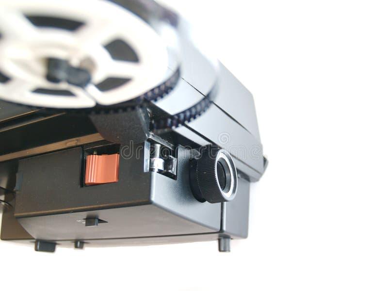 Gamla 8 rullar för mmtappningfilm arkivfoton