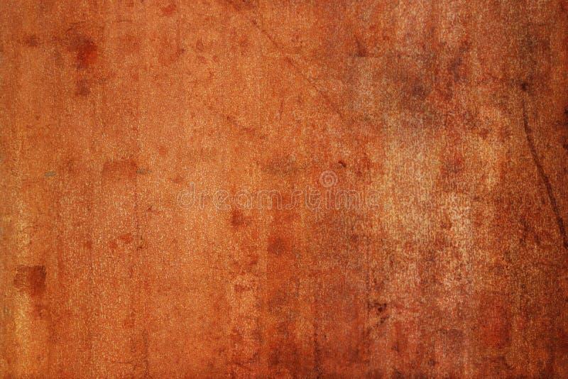 Gamla Rusty Sheet Textured Metal Background royaltyfria foton