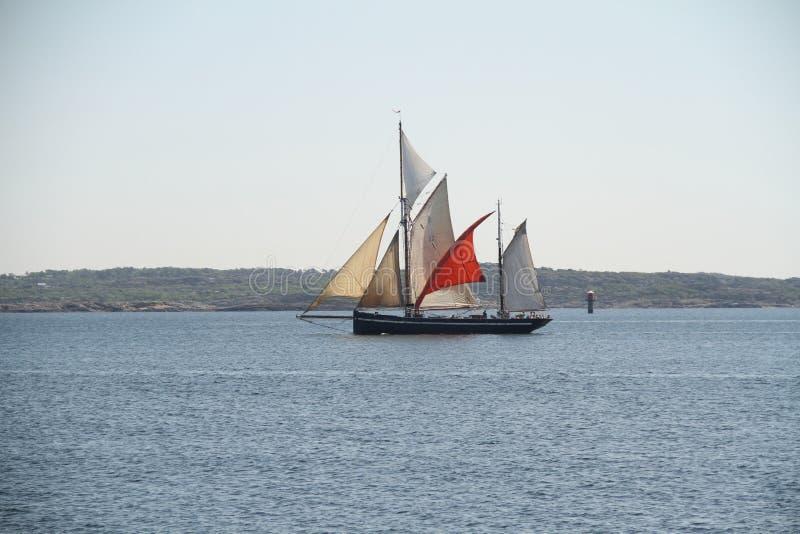 Gamla skeppmountins royaltyfri foto