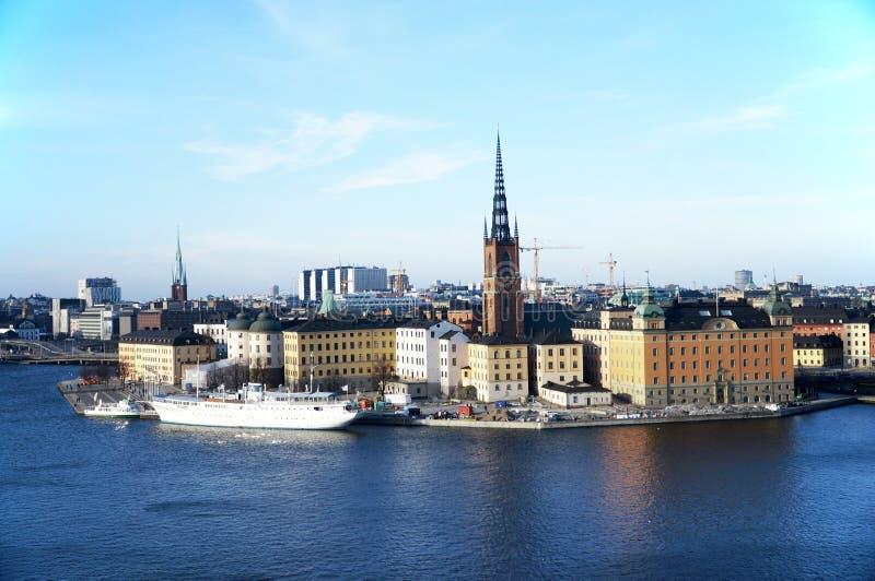 Gamla Stan en Estocolmo foto de archivo