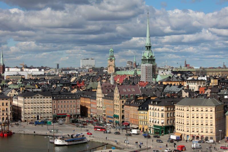 Gamla Stan, Estocolmo imágenes de archivo libres de regalías