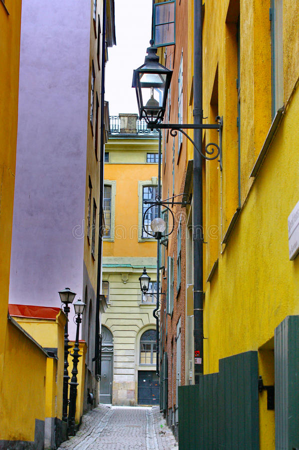 Download Gamla Stan,The Old Town In Stockholm Stock Photo - Image: 23912830