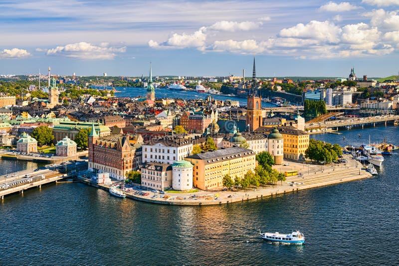 gamla stan stockholm Швеция стоковые изображения rf