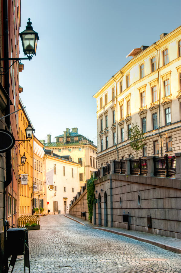 Download Gamla Stan, Stockholm stock photo. Image of sweden, town - 21405542