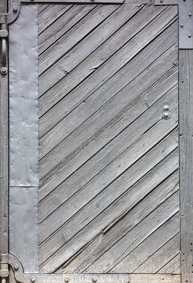 Gamla trädörrar, texturer royaltyfria foton