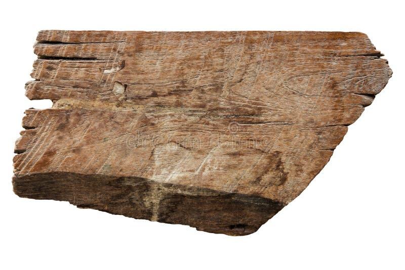 Gamla wood plankatexturer som isoleras på vit royaltyfria bilder
