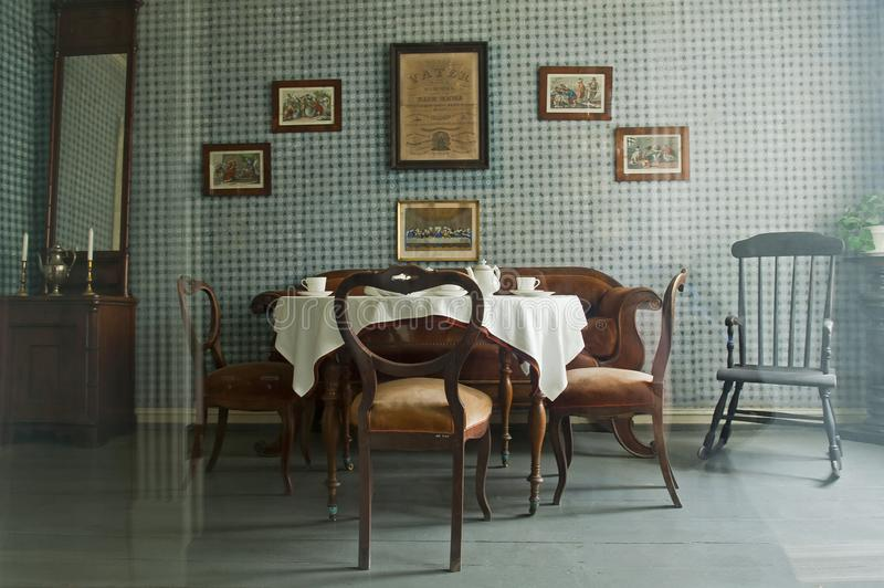 Gamle Bergen muzeum - Stary Bergen muzeum zdjęcia stock