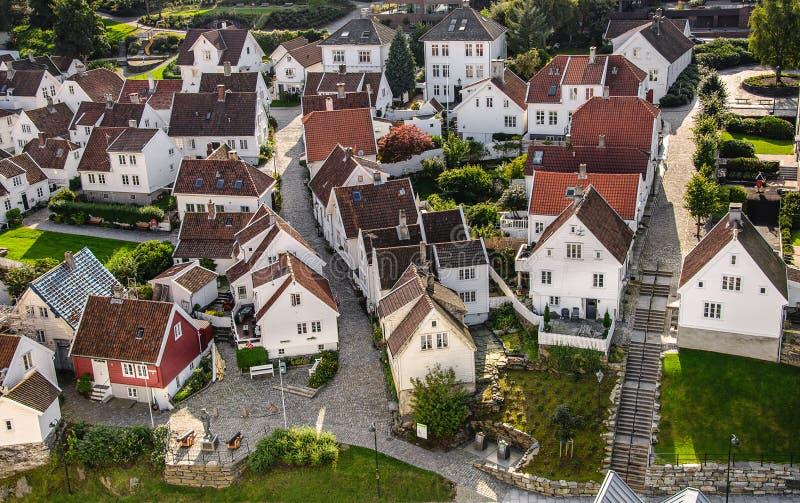 Gamle Stavanger στοκ φωτογραφία με δικαίωμα ελεύθερης χρήσης