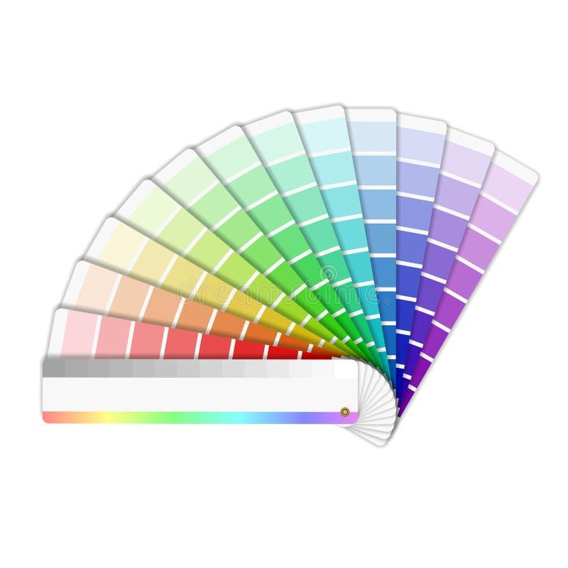 Gamma di colori di colore royalty illustrazione gratis
