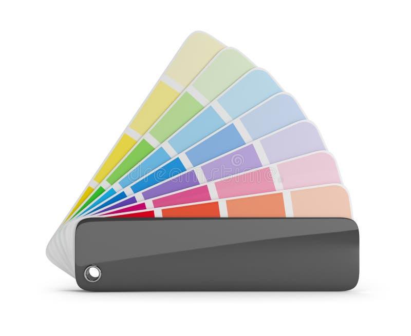 Gamma di colori di colore illustrazione vettoriale