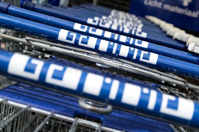 Gamma wózek na zakupy zdjęcia royalty free
