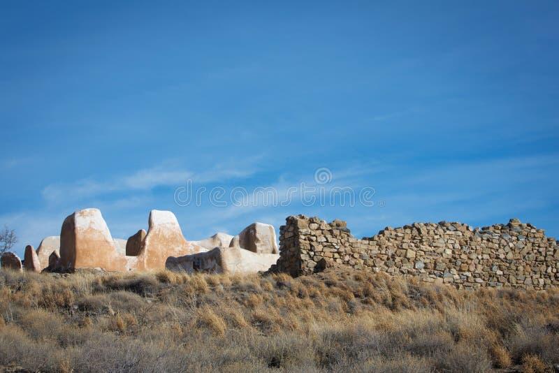 Gammal amerikansk fästning arkivbild