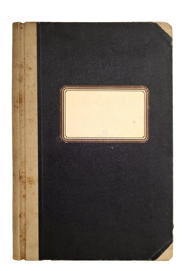 Gammal använd och smutsig anteckningsbok arkivbilder