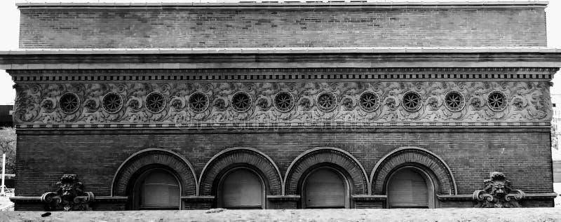 gammal arkitektur arkivbild