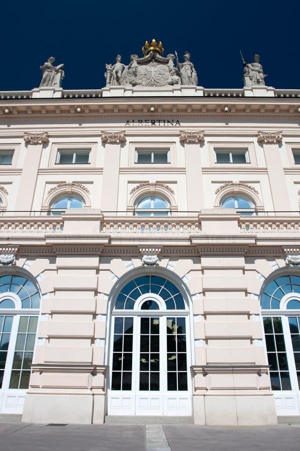 Gammal arkitektur av Wien royaltyfria bilder