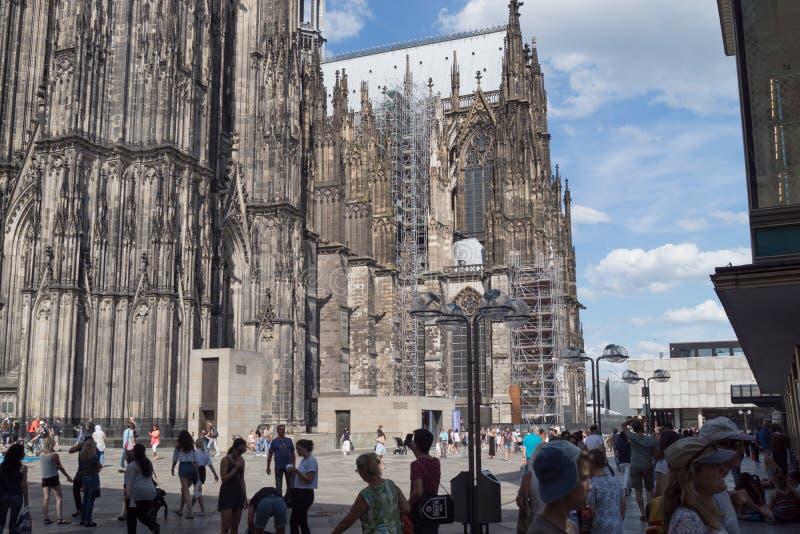 Gammal arkitektur i Tyskland arkivfoton