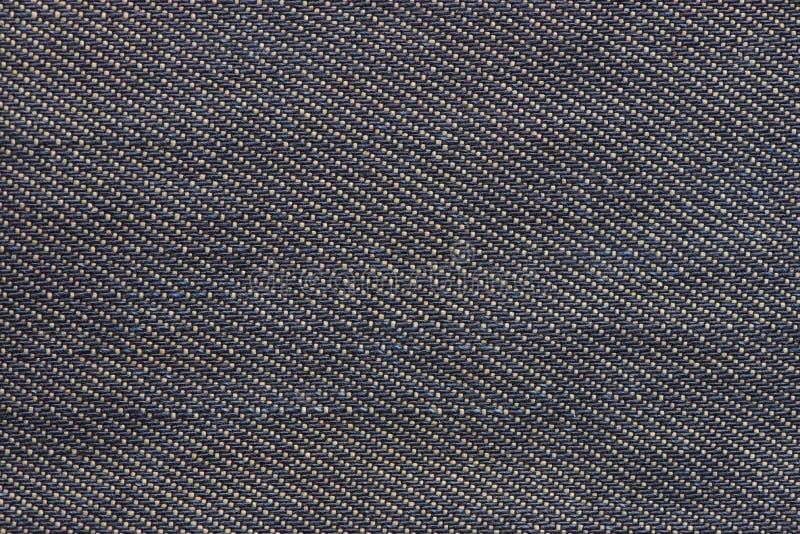 Gammal bakgrund för grov bomullstvilljeanstextur royaltyfri bild