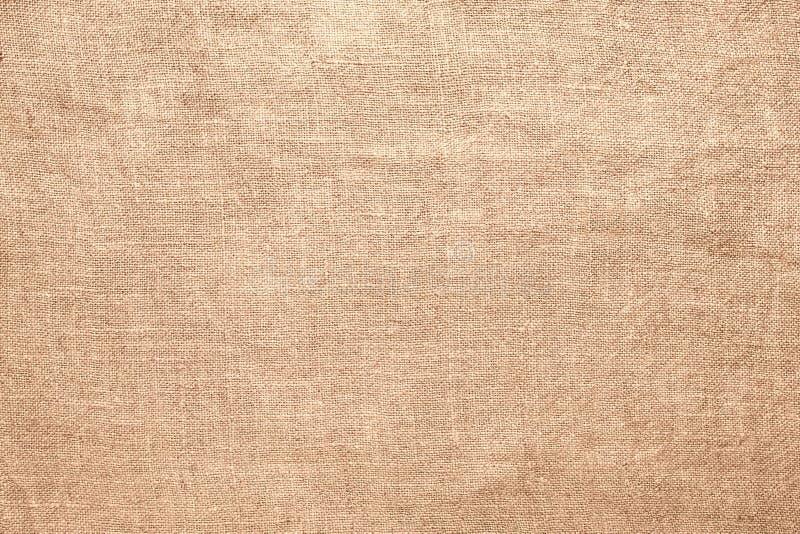 Gammal bakgrund för material för linnesäckvävtextur royaltyfri foto