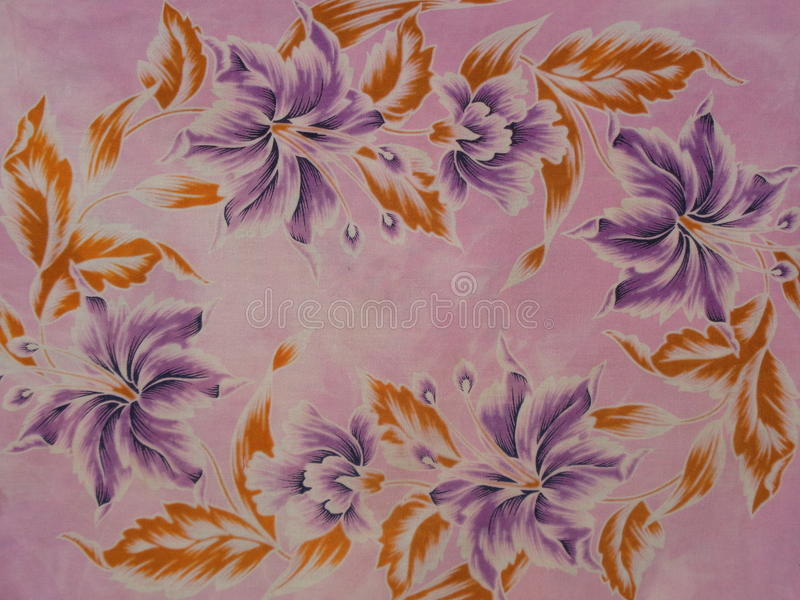 Gammal batik royaltyfria bilder