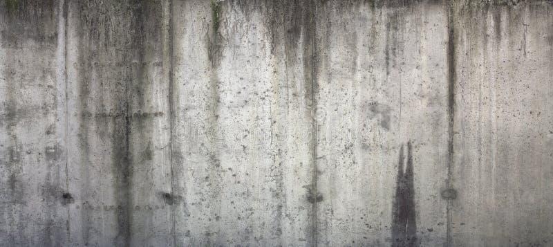 Gammal betongvägg arkivfoto