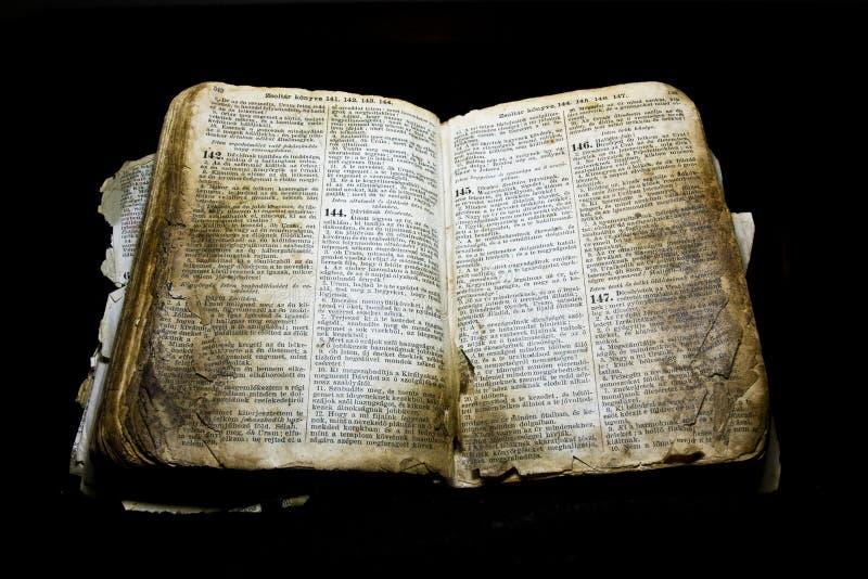 gammal bibel royaltyfria foton