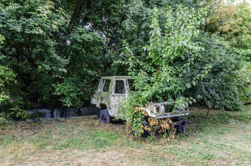 Download Gammal bil arkivfoto. Bild av lökformig, park, ryss, green - 37346848