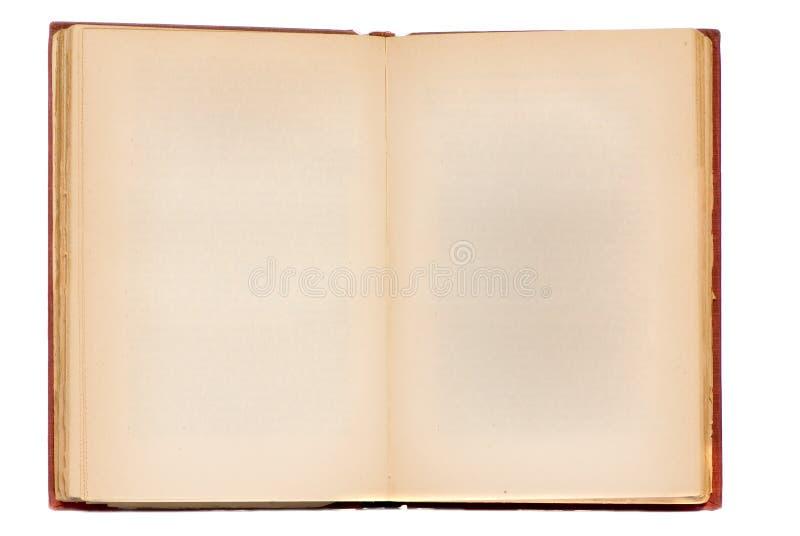 gammal blank bok fotografering för bildbyråer
