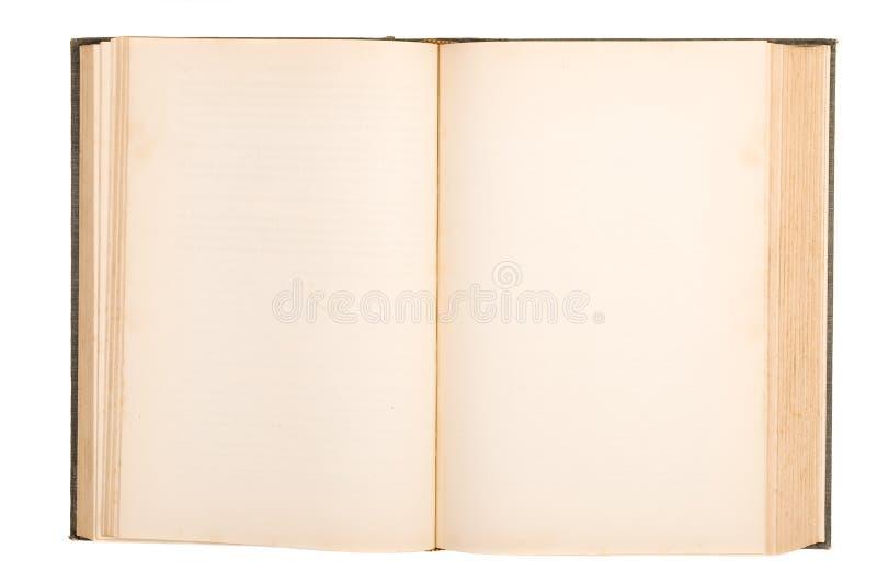 gammal blank bok royaltyfria foton