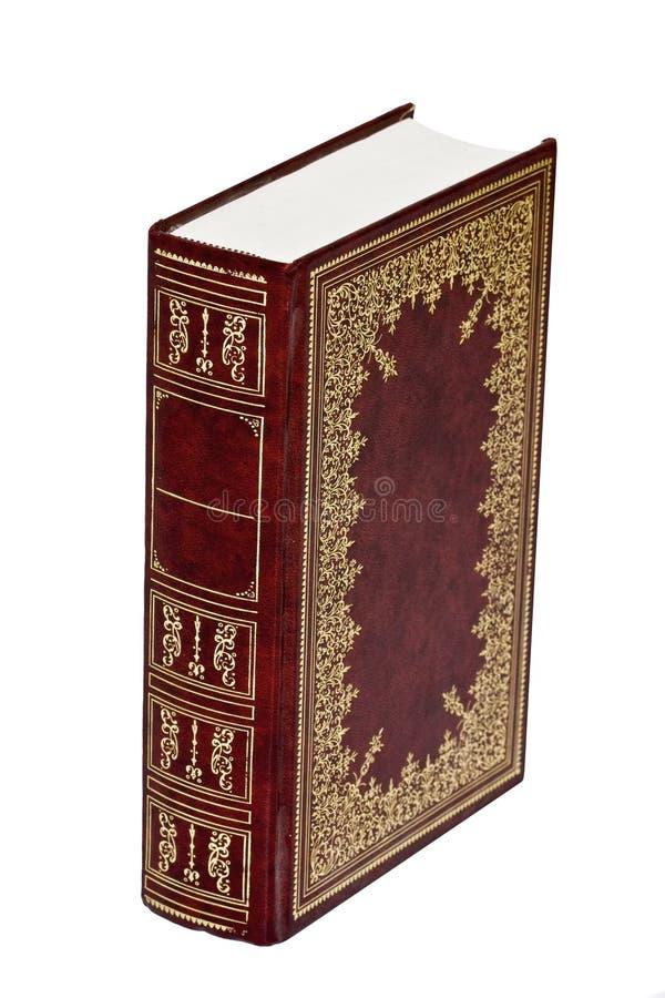 gammal bok royaltyfria bilder