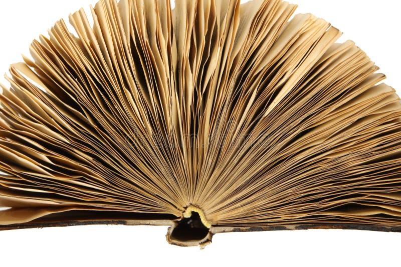 Gammal bok för tappning arkivbild
