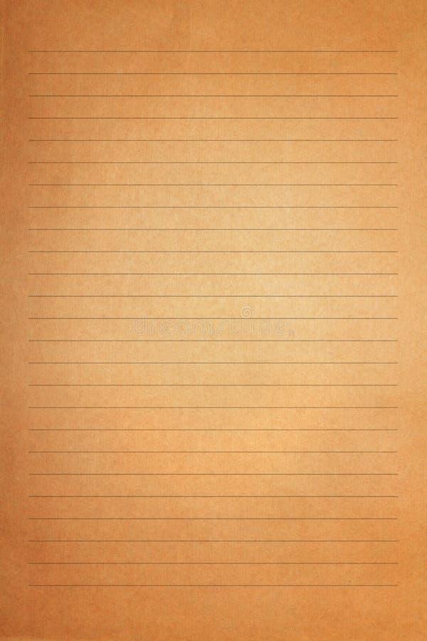 Gammal brun tappning märker pappers- royaltyfri fotografi