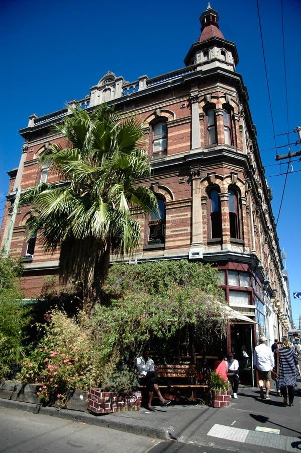 Gammal byggnad från Melbourne royaltyfria bilder