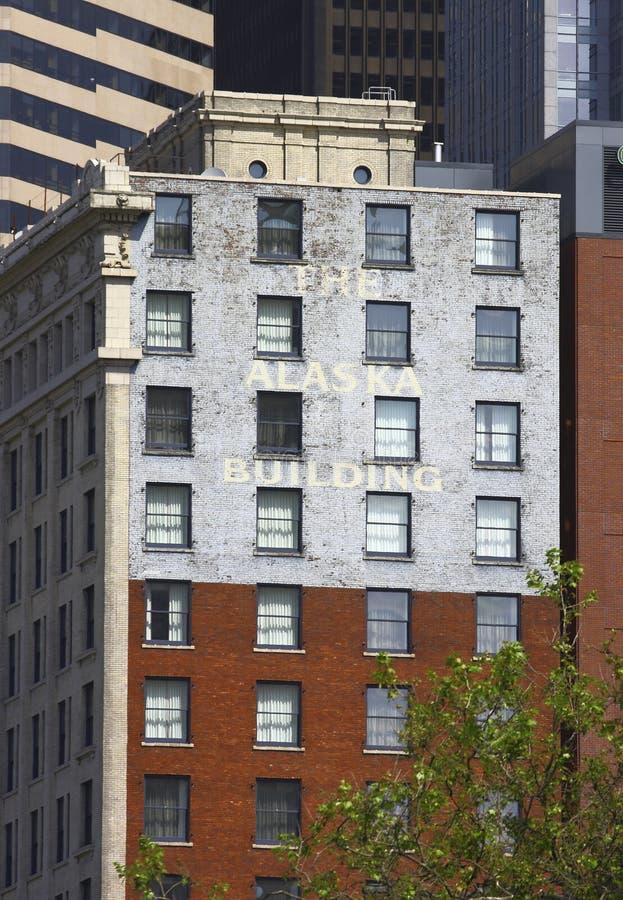 Download Gammal byggnad i Seattle fotografering för bildbyråer. Bild av fönster - 27276823
