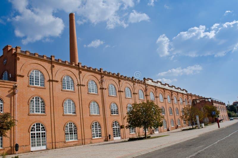 gammal byggnadsfabrik royaltyfri foto
