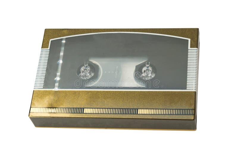 Gammal cassete i ask arkivfoton