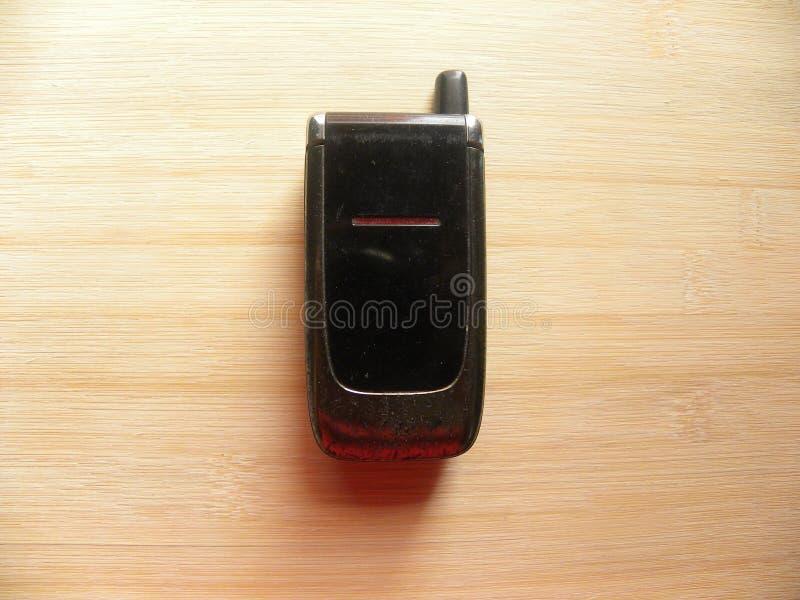 Gammal fliptelefon fotografering för bildbyråer