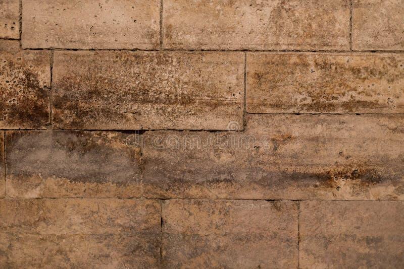 Gammal forntida grunge för tegelstenvägg royaltyfria foton