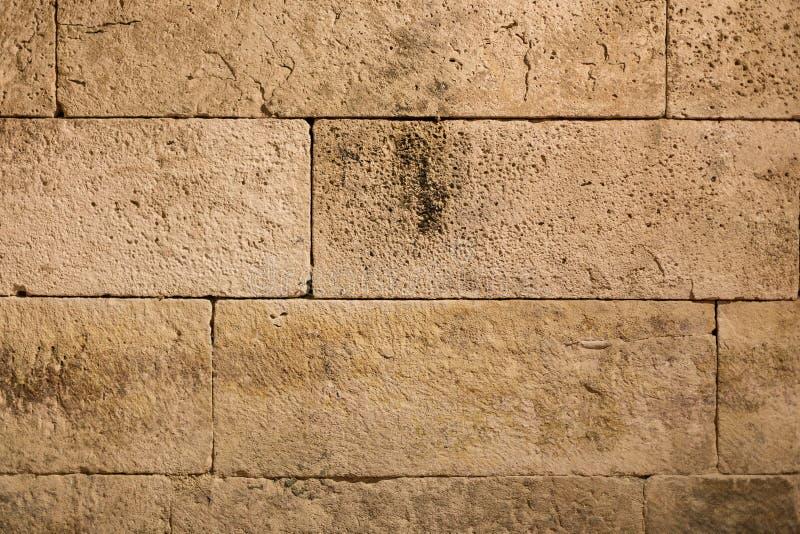 Gammal forntida grunge för tegelstenvägg arkivfoto