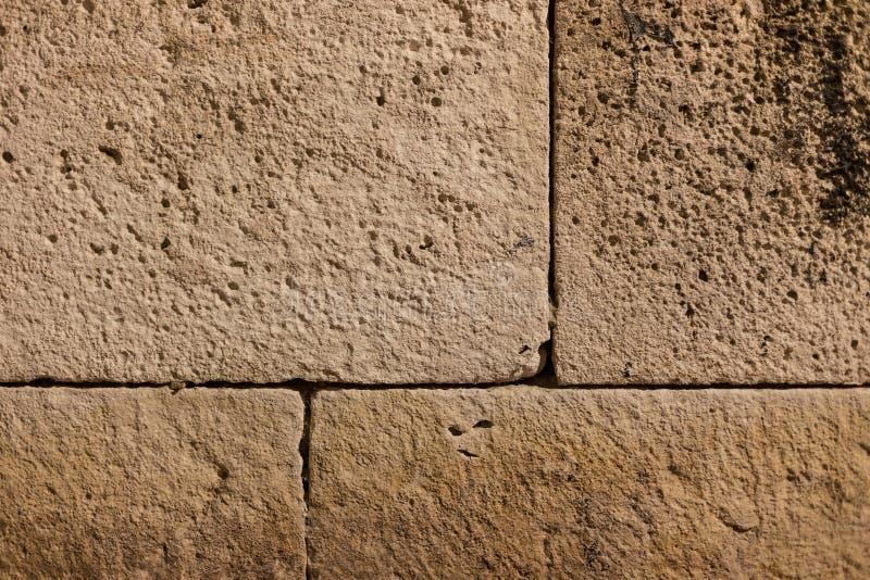 Gammal forntida grunge för tegelstenvägg arkivbilder