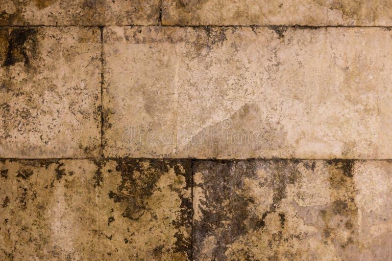 Gammal forntida grunge för tegelstenvägg royaltyfri bild