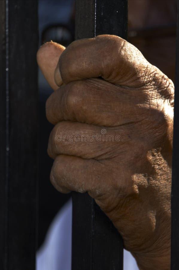 Gammal Hand Arkivbilder