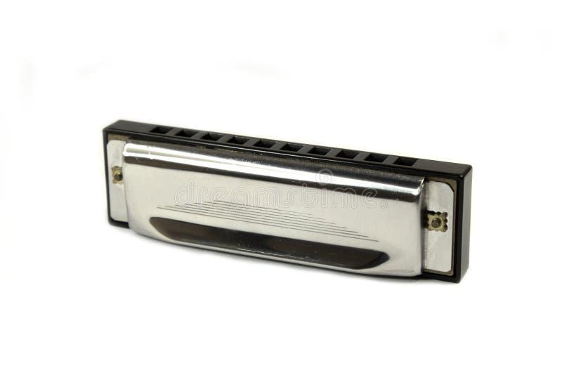 gammal harmonica arkivfoto