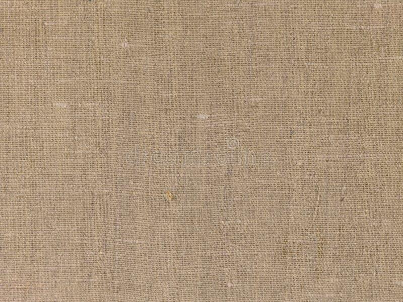 Gammal hessian, kanfastextur som bakgrund arkivbilder