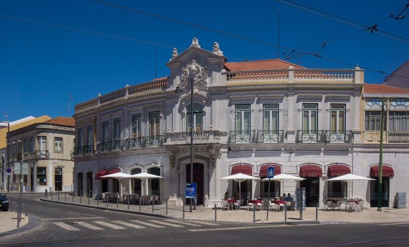 Gammal historisk byggnad i belem royaltyfri fotografi