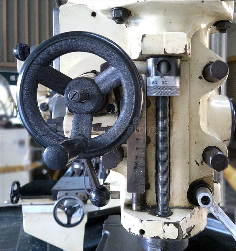 Download Gammal Industriell Precisiondrillborr Arkivfoto - Bild av precision, spak: 106837058