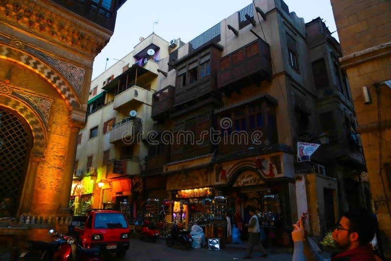 Gammal Kairo - Fatimid Kairo arkivbilder