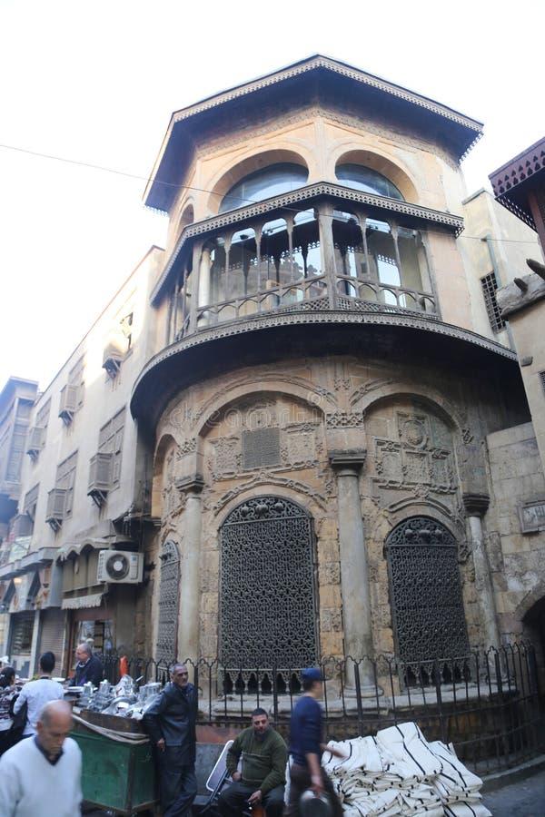 Gammal Kairo - Fatimid Kairo royaltyfria bilder