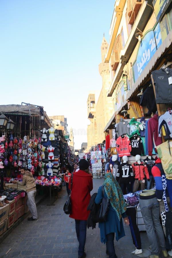 Gammal Kairo - Fatimid Kairo royaltyfri foto