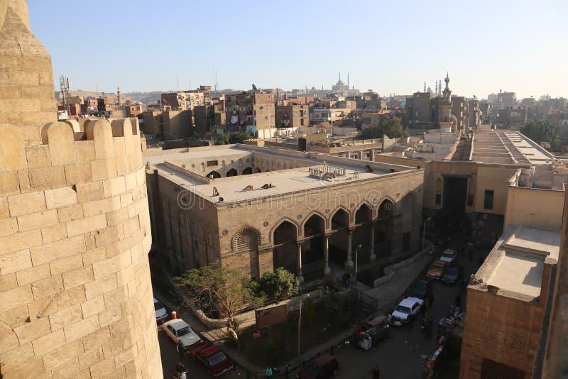 Gammal Kairo - Fatimid Kairo royaltyfri fotografi