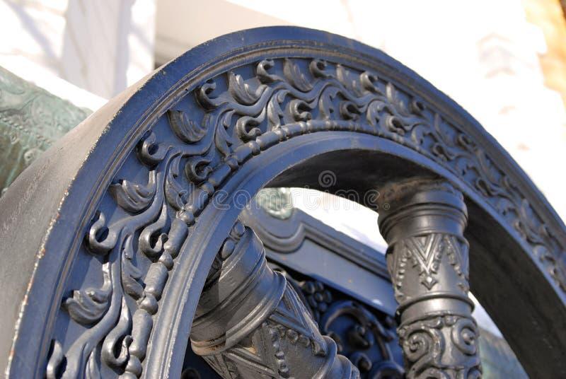 Gammal kanonwheell i MoskvaKreml Rome Italien, Europa royaltyfri foto